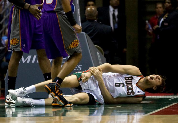 Terribles lesiones en la NBA