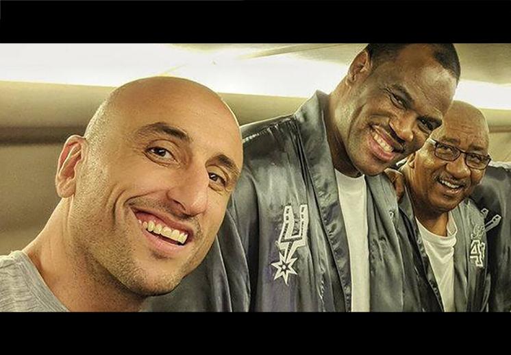 Manu se roba el show en los nuevos comerciales de Spurs