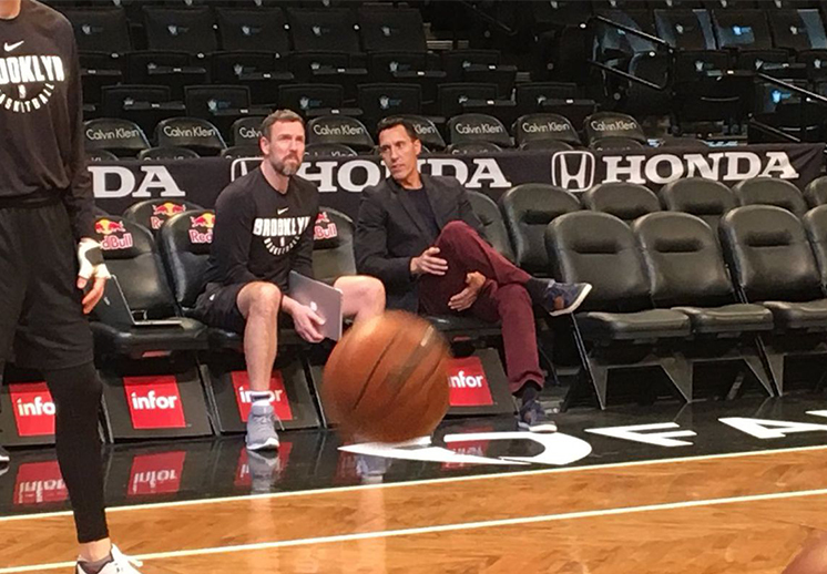 Prigioni a los Nets como entrenador asistente
