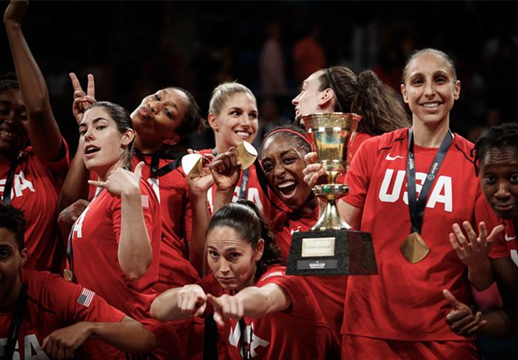 EE. UU, las más dominantes del basquetbol femenil