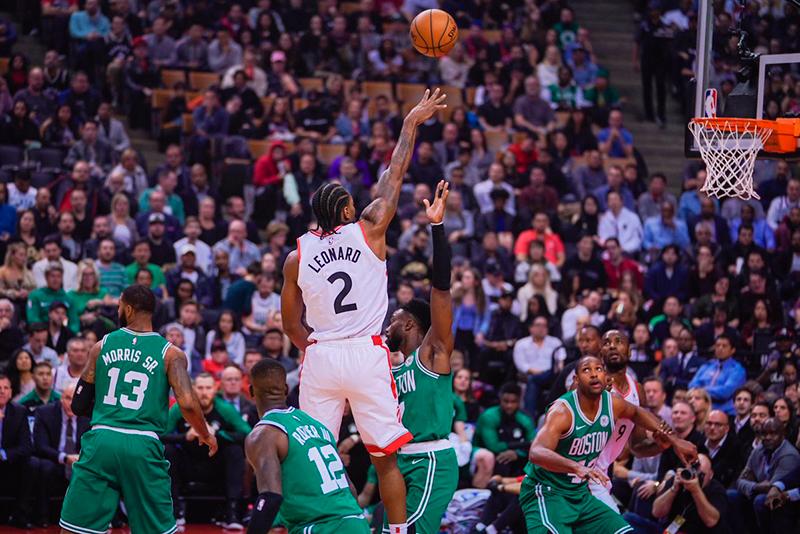 Los Raptors se encaminan a la cima del Este