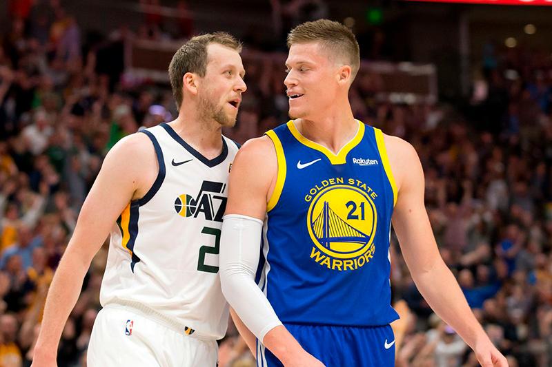 Warriors y Jazz protagonizaron un juego lleno de drama