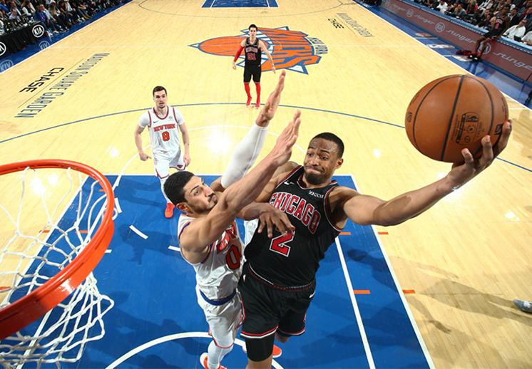 Bulls y Knicks protagonizan batalla sin cuartel