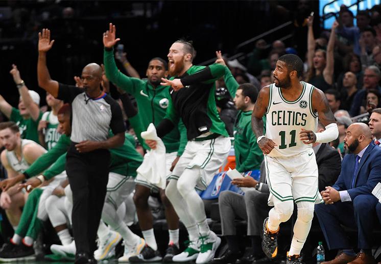 Llovieron triples y Celtics acabó con el invicto de Bucks
