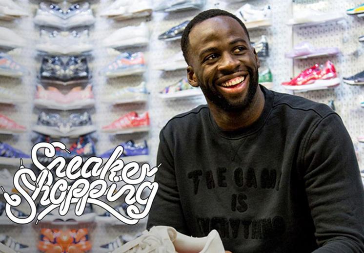 Draymond Green y su afición por los sneakers