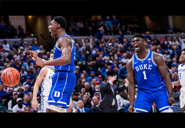 El debut de Zion Williamson y RJ Barrett en la NCAA