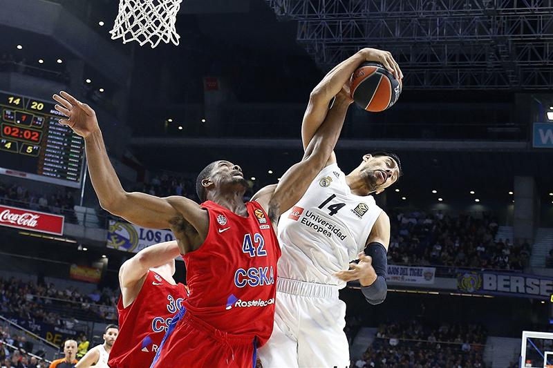 En duelo de titanes, el CSKA derrotó al Real Madrid