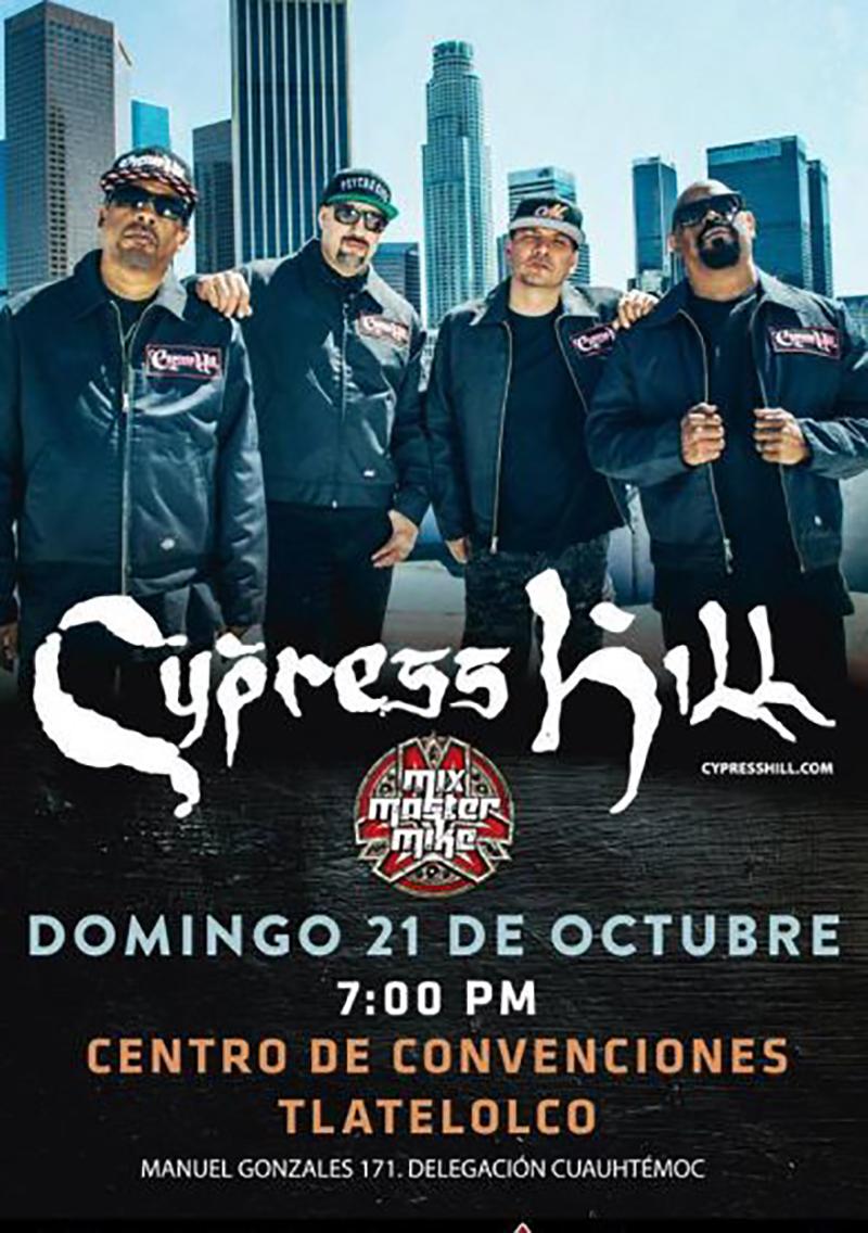 Cypress Hill en CDMX