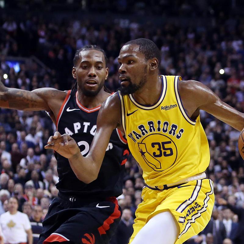 Duelo con sabor a Finales entre Durant y Kawhi