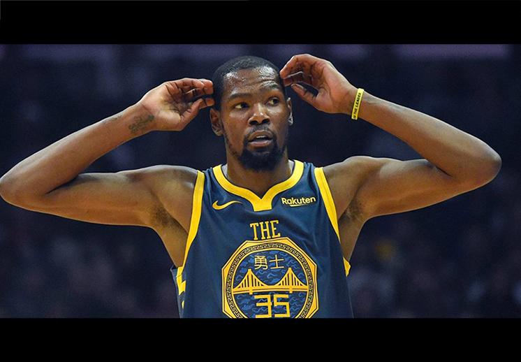 Kevin Durant castigado