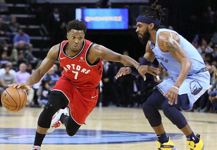 Los Raptors siguen como los mejores de la NBA