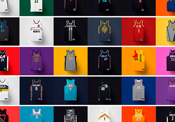 La segunda edición de los uniformes NBA City Edition