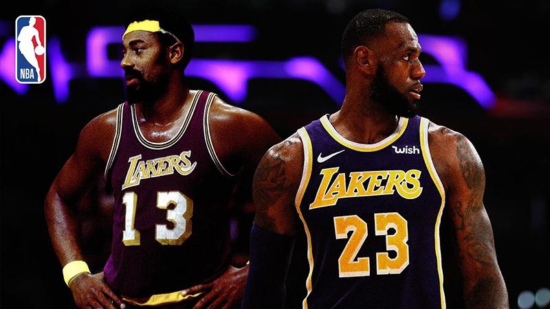 De Wilt Chamberlain a LeBron James