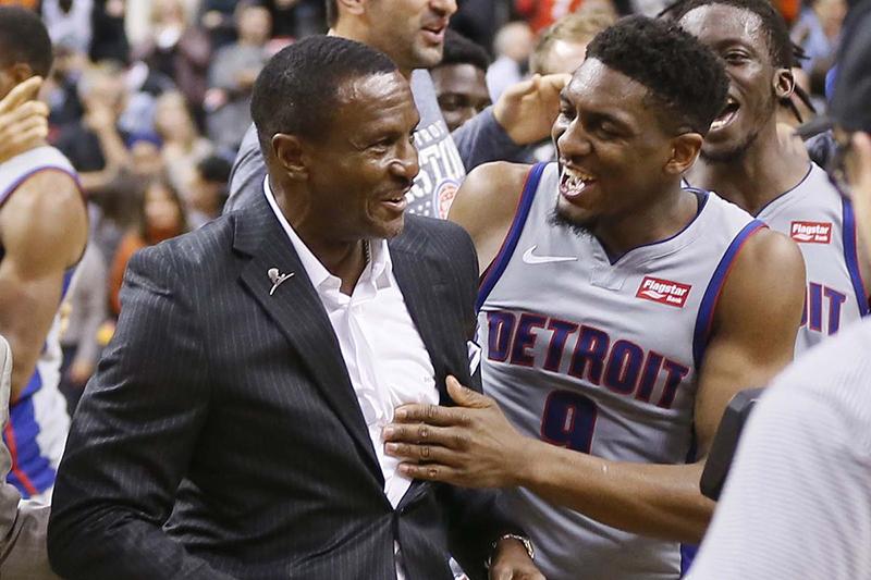 Los Pistons le hicieron la travesura a los Raptors