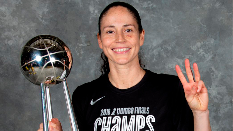 Una campeona de la WNBA llega a la NBA