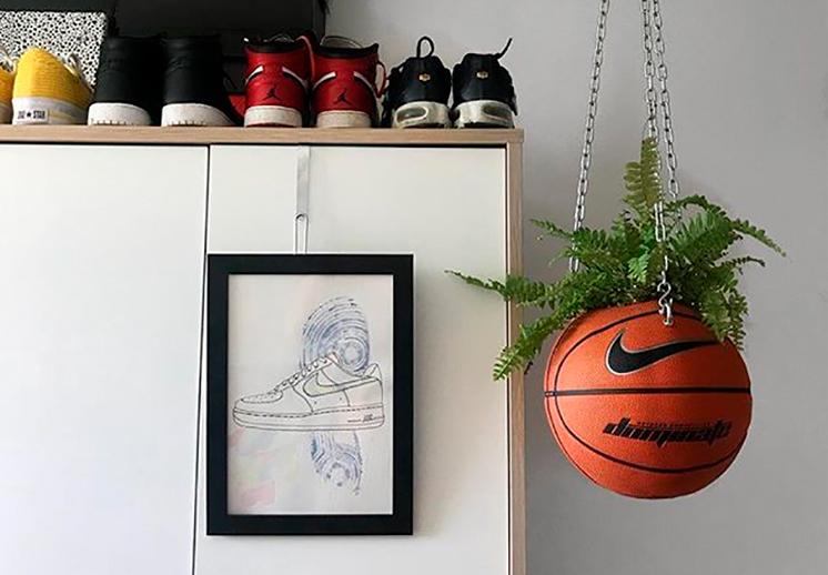 Convierte tu pasión por el basquet en piezas de arte y diseño