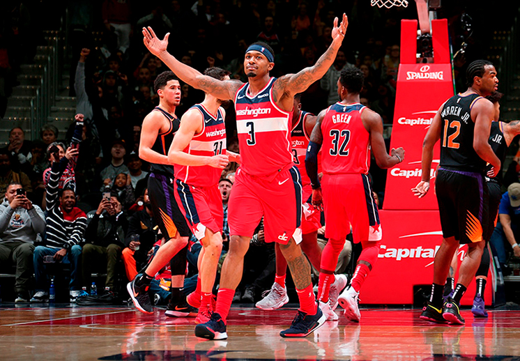 Partido histórico para los Wizards de Washington