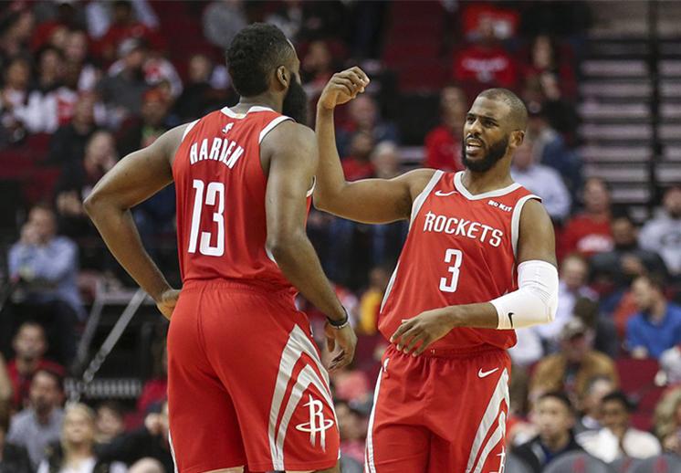 Récord de triples para los Rockets