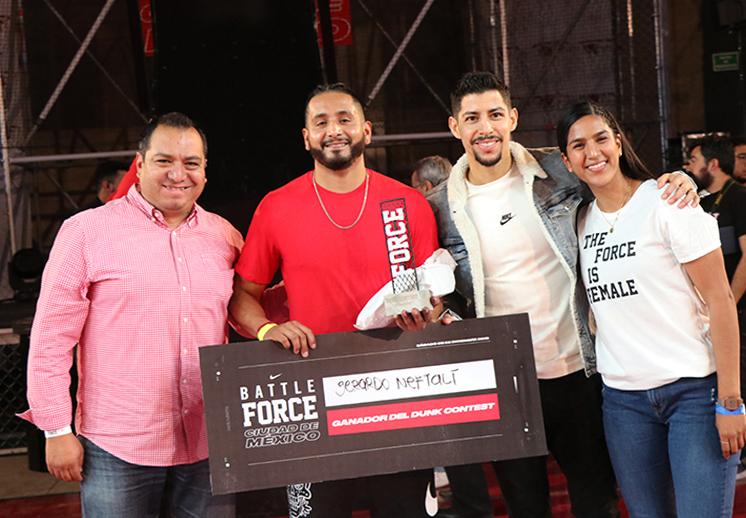 Así se vivió el Dunk Contest en la final de Nike Battle Force