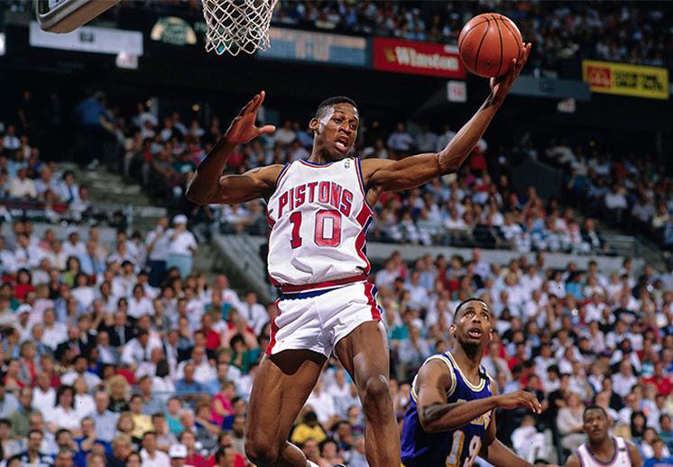 Dennis Rodman, el monstruo de los rebotes
