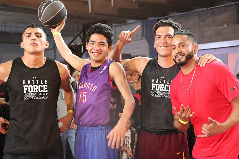 Así se vivió el Dunk Contest en la final de Nike Battle Force