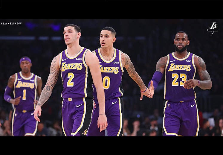 Lakers de Los Angeles con paso firme