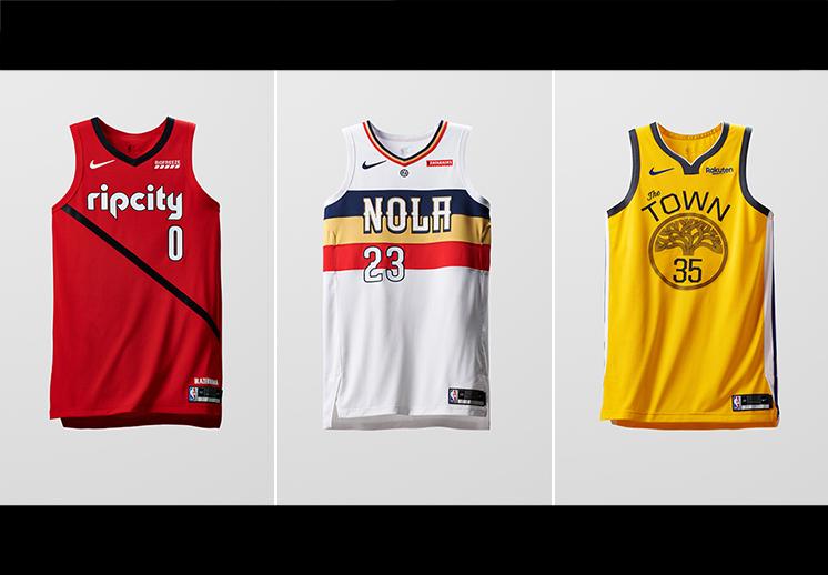Llegan nuevos jerseys de la NBA DESTACADA