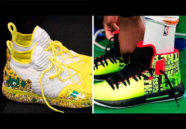 Los sneakers de las estrellas de la NBA en Navidad