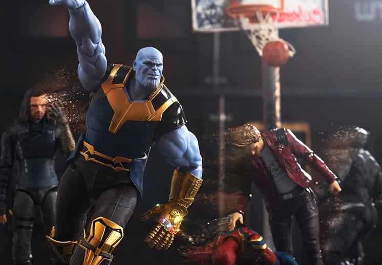 El baile de Lance Stephenson y Thanos basquetbolista