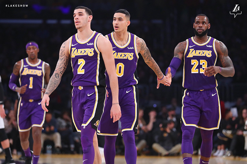 Lakers de Los Angeles con paso firme