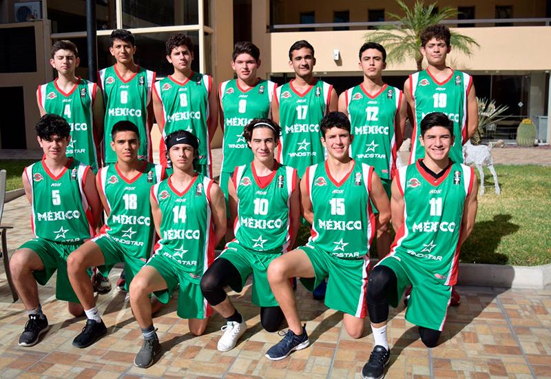 Buen inicio de México en el Centrobasket U15