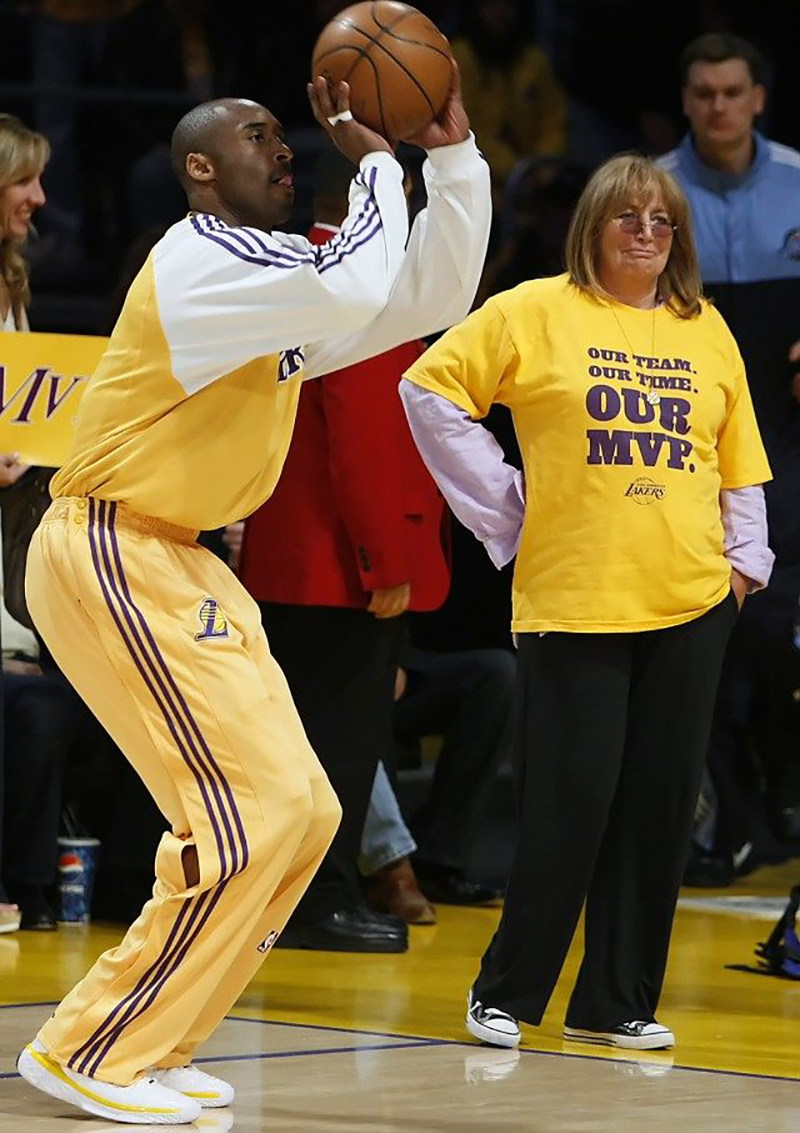 Penny Marshall, una de las más grandes seguidoras del basquet