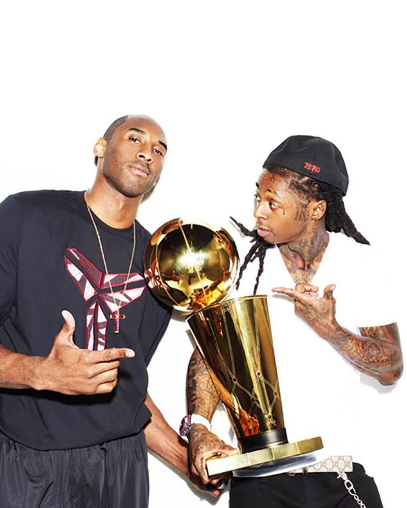 La afición de Lil Wayne por Kobe Bryant