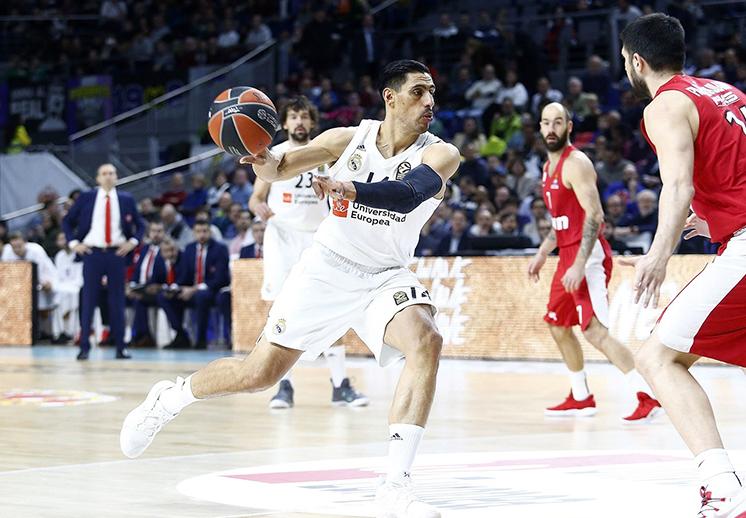 Real Madrid se impone en clásico ante Olympiacos