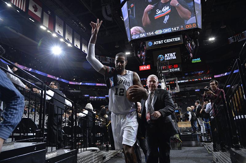 Spurs y Thunder se batieron en un duelo a muerte