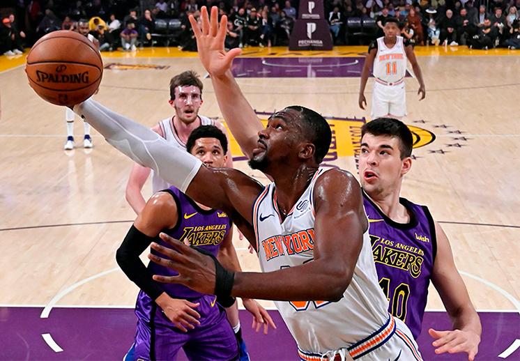 Los Knicks por fin salen del abismo