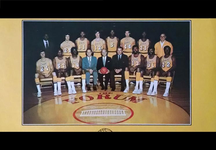 Los Lakers de las 33 victorias al hilo