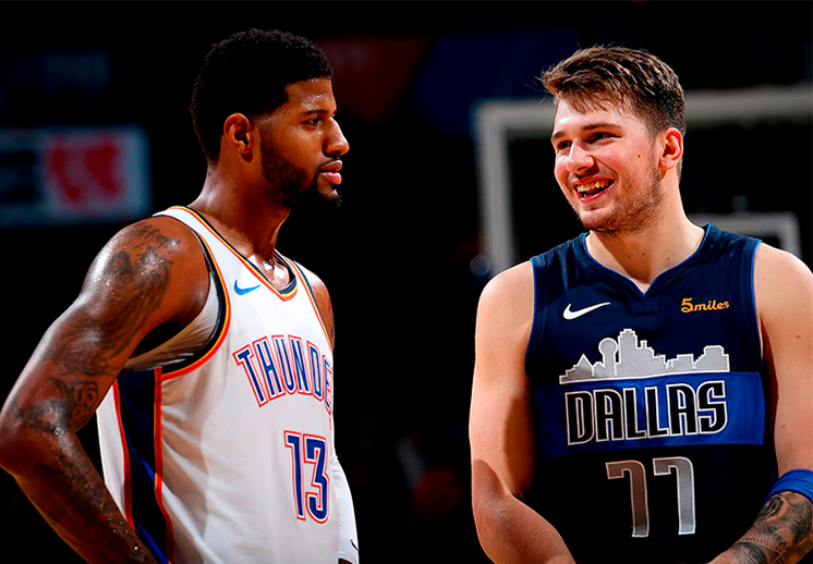 Paul George y el Thunder tuvieron pronta revancha