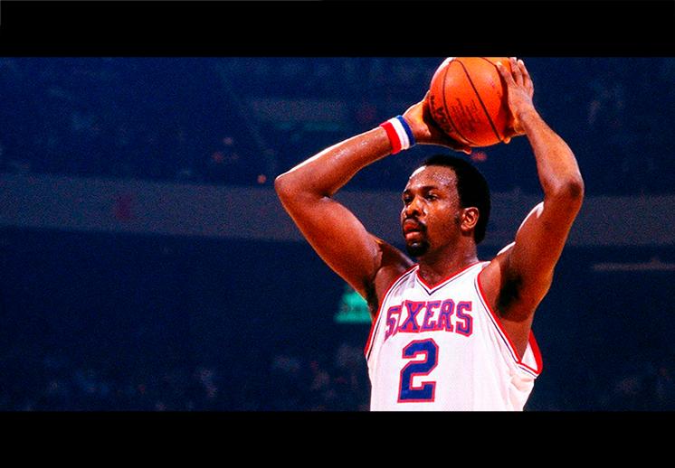 El homenaje de los 76ers a Moses Malone
