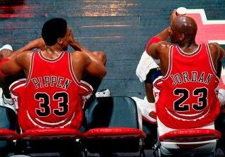 Pippen a la defensa de Jordan