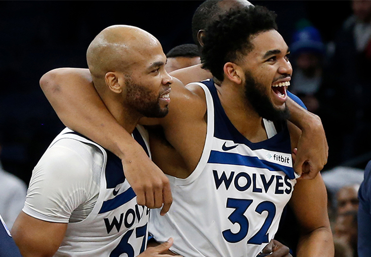 Karl-Anthony Towns congeló a los Grizzlies