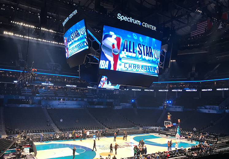 Apuntes del All-Star Game en Charlotte