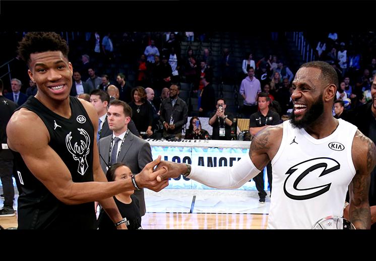 Conoce a los elegidos por LeBron y Giannis para el All Star