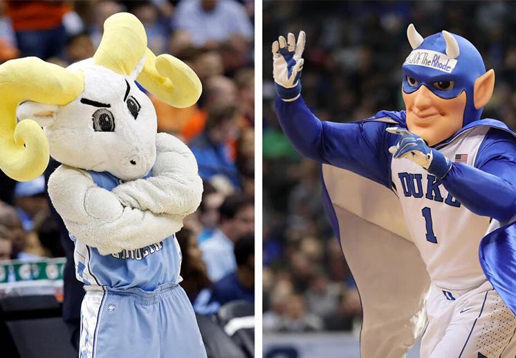 La rivalidad entre Duke y Carolina del Norte