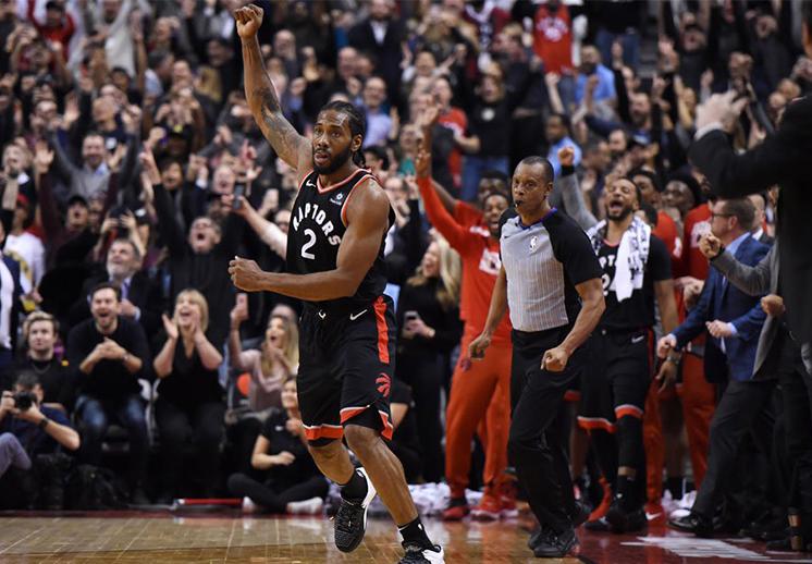 Kawhi Leonard acabó con los Nets