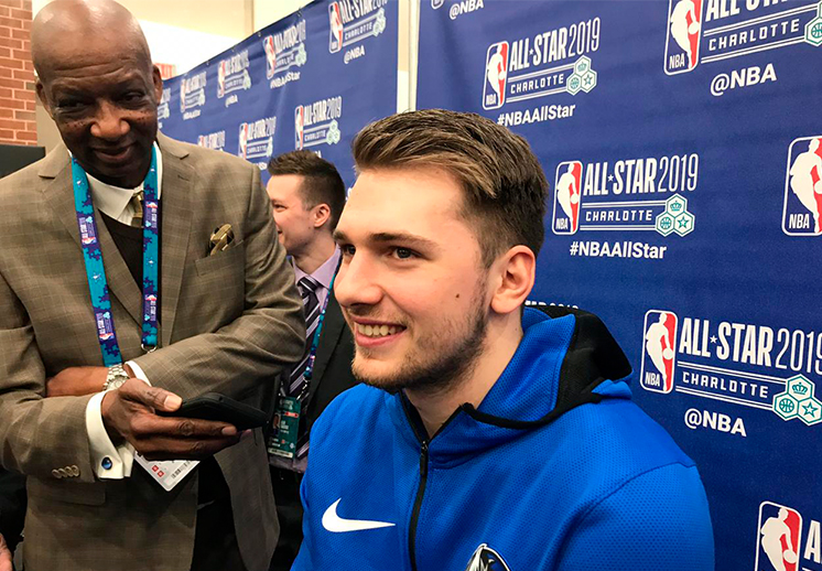 Luka Doncic y su primer NBA All-Star Weekend