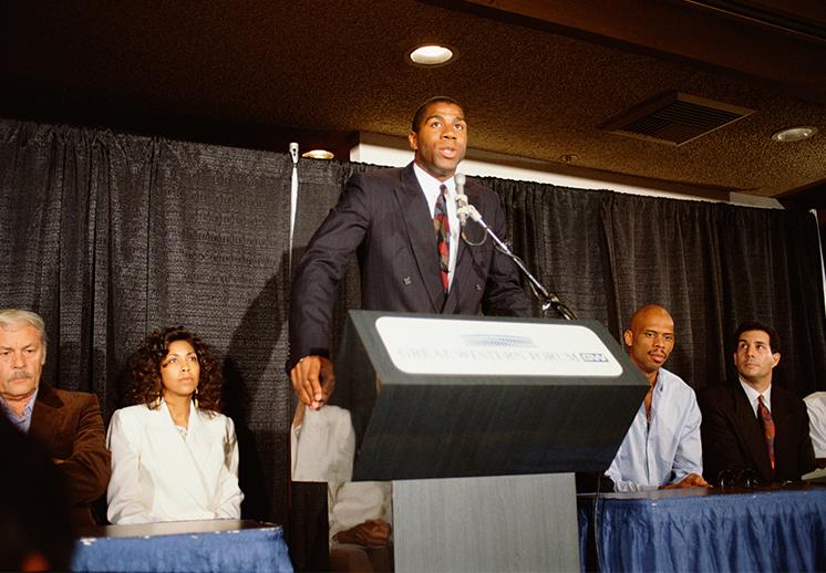 El día que Magic Johnson conmocionó al mundo