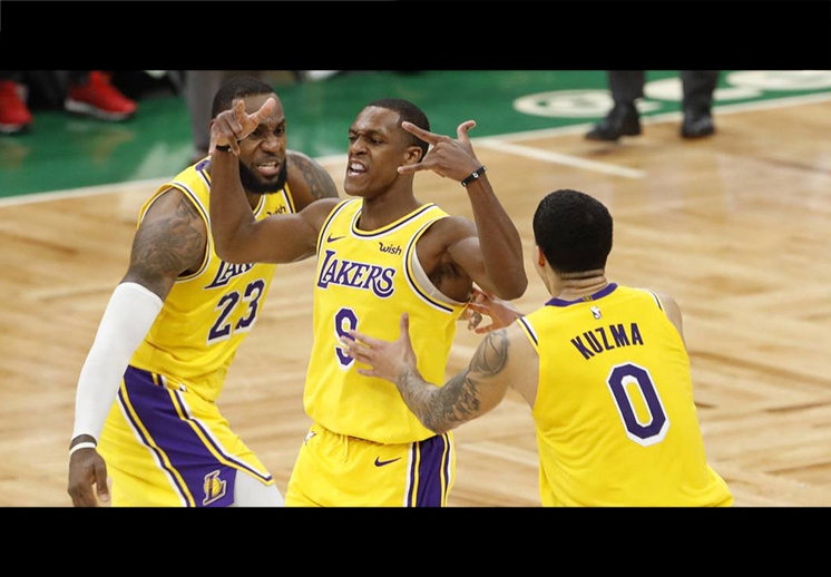 Rajon Rondo aniquiló a los Celtics