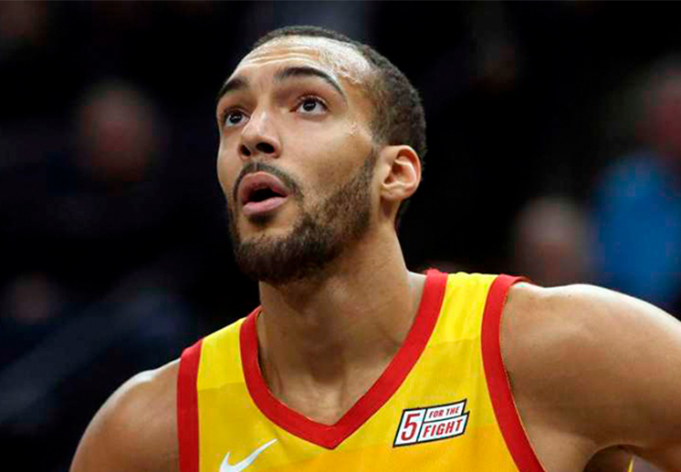 Rudy Gobert se puso sentimental