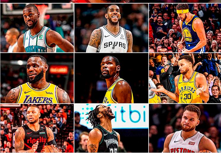 Explosión de puntos en lo que va de la temporada de la NBA